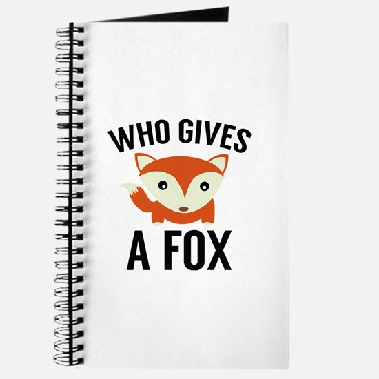 Who Gives A Fox Journal