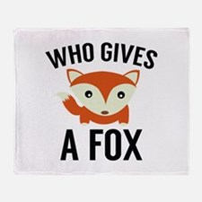 Who Gives A Fox Stadium Blanket