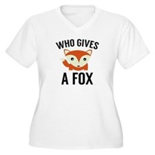 Who Gives A Fox T-Shirt
