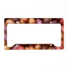 Potatoes License Plate Holder