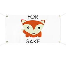 For Fox Sake Banner