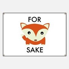 For Fox Sake Banner