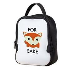 For Fox Sake Neoprene Lunch Bag