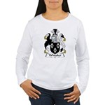 Whitaker Family Crest Women's Long Sleeve T-Shirt