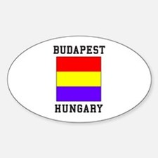 Budapest Hungary Decal