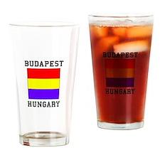 Budapest Hungary Drinking Glass