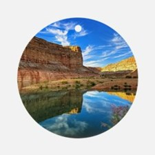 Grand Canyon Ornament (Round)