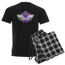 Sarcoidosis Fighter Wings Pajamas