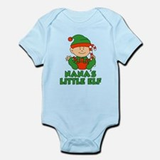 Nana's Little Elf Body Suit