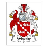 Whistler Family Crest Small Poster