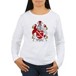 Whistler Family Crest  Women's Long Sleeve T-Shirt