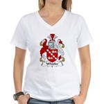 Whistler Family Crest  Women's V-Neck T-Shirt