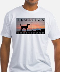 Bluetick Coonhound Sunset Shirt