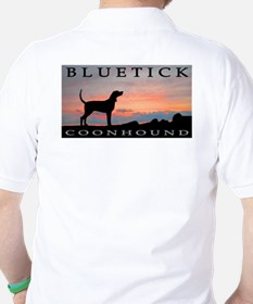 Bluetick Coonhound Sunset T-Shirt