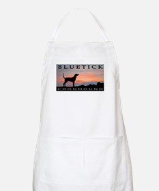 Bluetick Coonhound Sunset BBQ Apron
