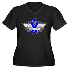 Myositis Fighter Wings Plus Size T-Shirt