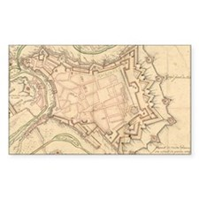 Vintage Map of Luxembourg (168 Decal