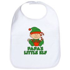 Papa's Little Elf Bib