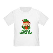 Papa's Little Elf T-Shirt