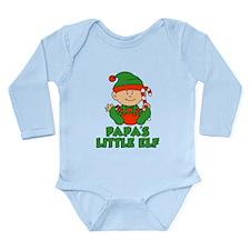 Papa's Little Elf Body Suit