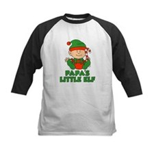 Papa's Little Elf Baseball Jersey