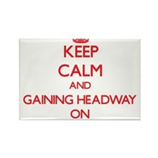 Keep Calm and Gaining Headway ON Magnets