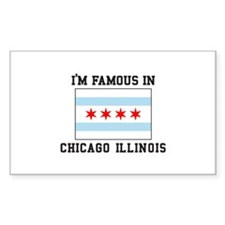 Famous Chicago, Illinois Decal