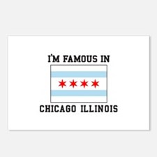 Famous Chicago, Illinois Postcards (Package of 8)