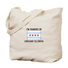 Famous Chicago, Illinois Tote Bag
