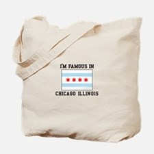 Famous Chicago, Illinois Tote Bag