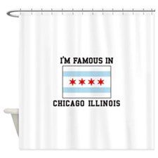 Famous Chicago, Illinois Shower Curtain