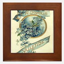 Joyous Yuletide Framed Tile