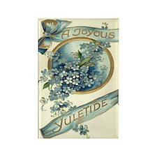 Joyous Yuletide Rectangle Magnet (100 pack)