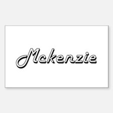 Mckenzie surname classic design Decal