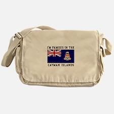 Famous Cayman Islands Messenger Bag