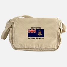I Love Cayman Islands Messenger Bag