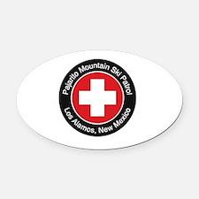 Pajapatrol Oval Car Magnet