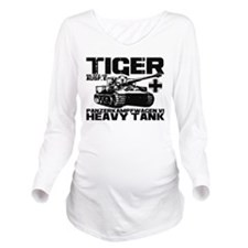 Tiger I Long Sleeve Maternity T-Shirt