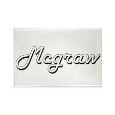 Mcgraw surname classic design Magnets