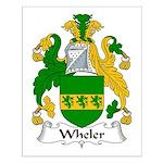 Wheler Family Crest Small Poster