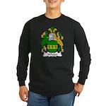 Wheler Family Crest Long Sleeve Dark T-Shirt