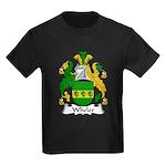 Wheler Family Crest Kids Dark T-Shirt