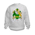 Wheler Family Crest Kids Sweatshirt