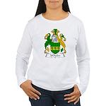Wheler Family Crest Women's Long Sleeve T-Shirt