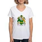 Wheler Family Crest Women's V-Neck T-Shirt