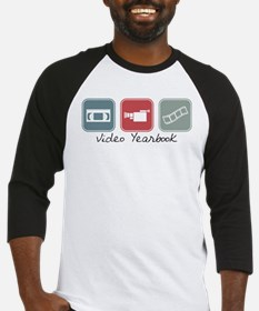 Video Yearbook (Squares) Baseball Jersey