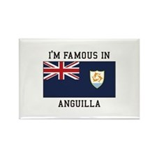 Famous In Anguilla Magnets