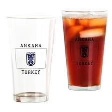 Famous In Ankara Turkey Drinking Glass