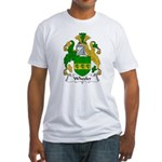 Wheeler Family Crest Fitted T-Shirt