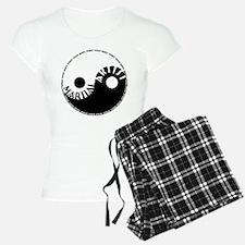 martial artist yin yang Pajamas